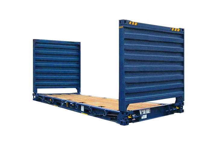 20′ Flat rack hc
