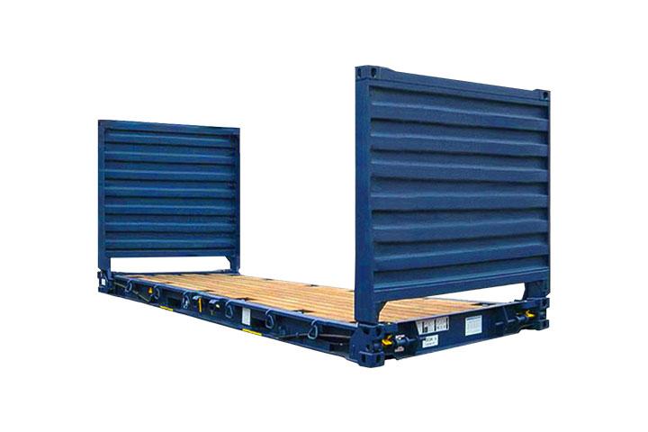 20′ Flat rack