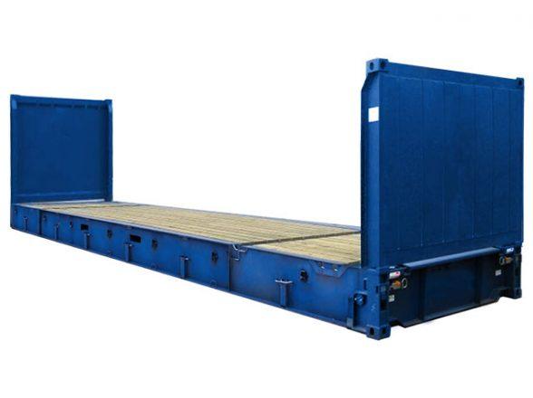 40′ Flat rack
