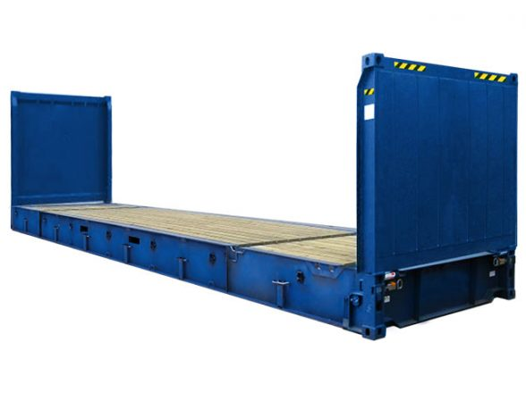 40′ Flat rack hc
