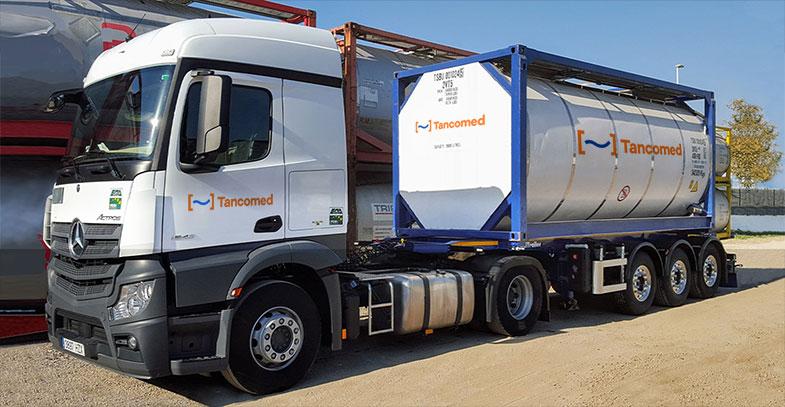 Tancomed - Camión isotank